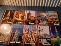 Colectia cele mai iubite orase set complet 10 volume