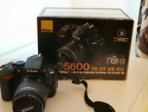 Aparat foto Nikon D5600 cod (1855vrkit) nr. CADRE 9477