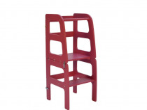 Turn de Invatare - Learning Tower Multifunctional - Roz