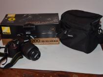 Nikon 3200 cu 1900 cadre, pachet complet