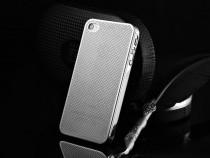 Husa SLIM aluminiu perforat, iPHONE 4 / 4S, nu piele, LUX