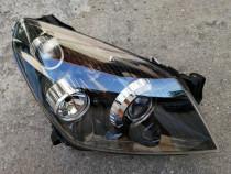 Far Opel Astra H bi xenon iluminare in curba dreapta