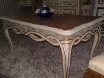 Masa stil baroc venetian 1m/mobila vintage/veche/antica