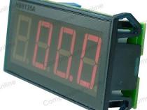Voltmetru digital, cu LED-uri, 3,5 digiti, 0-100V DC-111402
