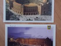 Lot de 2 vederi / carte postale,Madrid