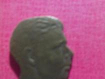 Forma din bronz cu capul Regelui Mihai