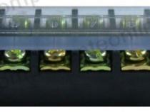 Regleta 12 pini, cu capac de protectie, 220x38x25 mm-128937