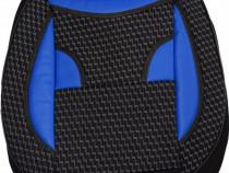 Huse scaune auto ECO Negru + Albastru ( 11piese )