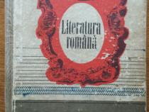 Manual vechi de literatura romana pentru anul I de liceu, 9