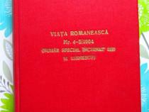 Viata Romaneasca- Eminescu. Volum inchinat lui Eminescu,1964