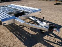 Platforma auto-trailer auto nou pe o axa! Boro Mini Mars