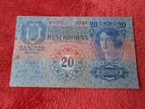 Bancnota 20 kronen 1913