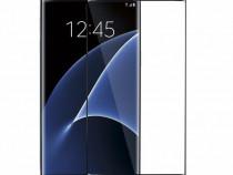 Samsung S7 Edge - Folie Sticla Securizata Curbata Neagra