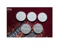 5 monede 500 lei Eclipsa Totala de Soare an 1999