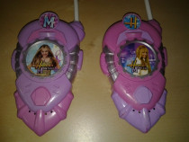 Hannah Montana - walkie talkie jucarii copii 25 cm