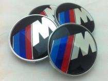 Capace pentru jante din aliaj BMW cu sigla M Power