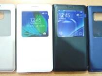 Husa carte sview Samsung Galaxy Note 5 N920 piele ecologica
