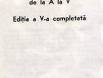 Trupa Teatrului de Comedie Ediţia a V-a completată 1983