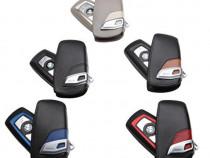 Husa piele cheie BMW F01, F07, F10, F12/13, F25, F30