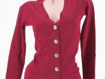 Bluza/cardigan dama visiniu
