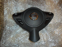 Airbag volan nissan juke 2011 multifunctional negru nou