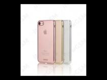 Husa TPU silicon Apple iPhone 7 Remax silver gold rose
