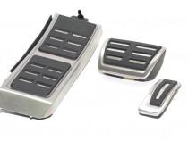 Set Pedale Inox + Footrest transmisie automata Audi A4,A5,A6