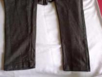 Pantaloni gravida, noi cu eticheta, material bbc/elastan,-30