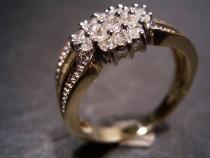Inel Aur 14k  Cu Diamante 0 80ct