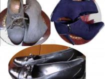 Pantofi superbi piele naturala italia & new look uk ,39-41