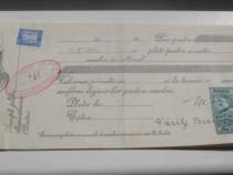 761- Polita bancara-Cambie-Bancile Banatene Unite SA ARAD.