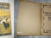 V. Alecsandri- Poezii populare, editie veche dupa 1900.