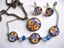 Set bijuterii model traditional 28228
