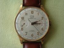 Ceas chronographe suisse (landeron) - aur 18k