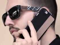 Husa telefon, iPhone, realizata manual, piele naturala 5.