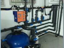 Instalații Piscine - Sistem automat de filtrare