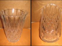 Vaza cristal Vals Lambert stare buna.Inaltime 20, diam. 14cm