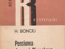 Pensiunea Doamnei Pipersberg de H.Bonciu
