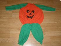 Costum carnaval serbare dovleac pentru copii de 1-2 ani