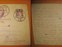 Carte Postala Militara-Expeditie- Reg. 13 Calarasi. Romania