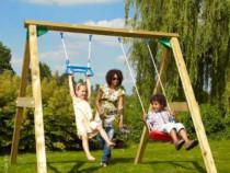 Leagăn Copii, cu loc de catarare - Jungle Gym Swing