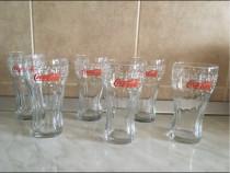 Set 6 pahare Coca-Cola, model Craciun, am si alte modele