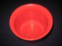3014-Jardiniera Sondgen,marca germana,ceramica rosie.