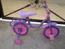 "Sofia the First - bicicleta copii 10"" (2 - 4 ani)"