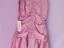 Rochie culoarea roz-sidefat, mărimea 36