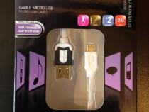 Cablu USB/micro USB Real Cable Evolution 1,5m lungime, nou