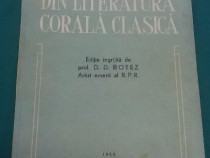 Din literatura corală clasică/d.d. botez*artisi emerit r.pr/