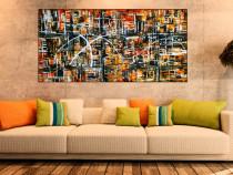 Pictura abstracta lucrari originale De Flo