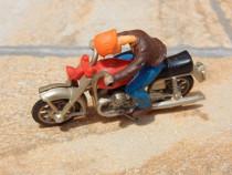 Macheta motocicleta metalica f veche sc 1:43
