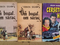 Om bogat om sarac/Cersetor hot-Irwin Shaw (3 vol)